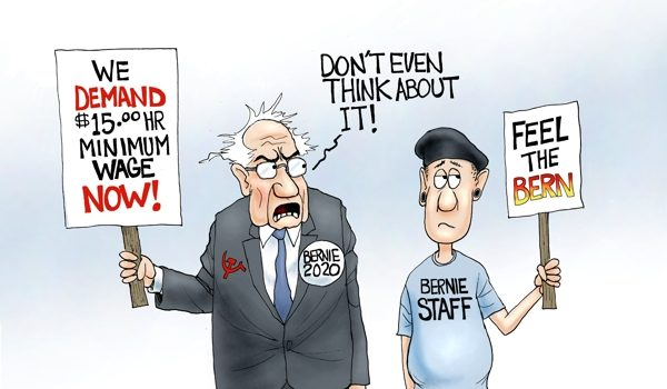 Cartoon of the Day: B.S. wages by A. F. Branco