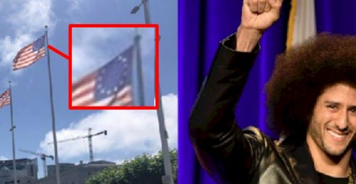 Oops: Betsy Ross flag has flown outside San Francisco city hall since 1964
