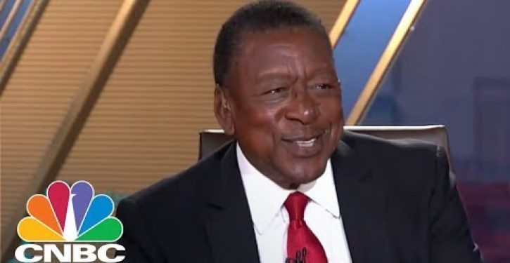 Dems have moved 'too far left,' says BET network founder Bob Johnson; I don't have a candidate