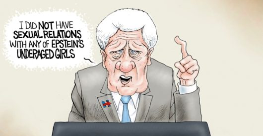 Cartoon of the Day: Sick Willie by A. F. Branco
