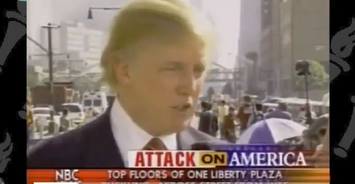 Media: Trump's claim he was at Ground Zero in aftermath of 9/11 is a lie. Wanna bet?