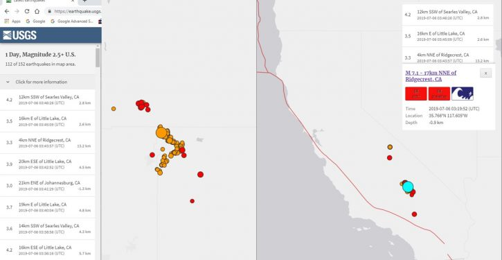Another quake hits California: 7.1 magnitude, multiple significant aftershocks