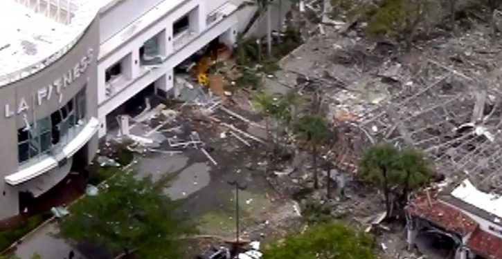 21 injured, dramatic destruction scene as gas explosion rocks FL shopping center