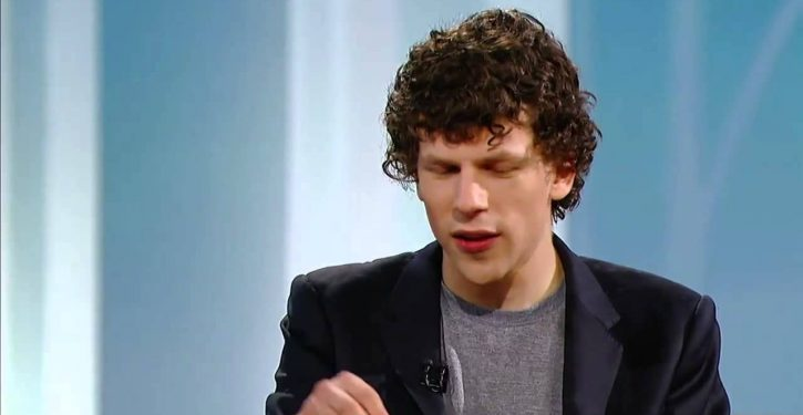Jesse Eisenberg's new movie covers 'dangers' of society teaching men to be 'strong'