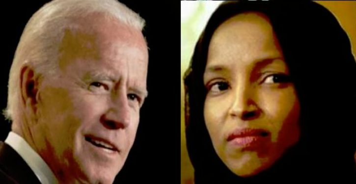 Omar shreds Biden: 'Not exciting,' incapable of implementing radical change 'nation needs'