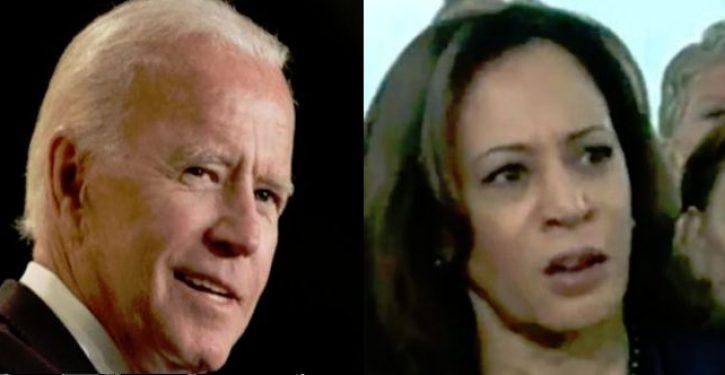Joe Biden says he's considering Kamala Harris as a running mate