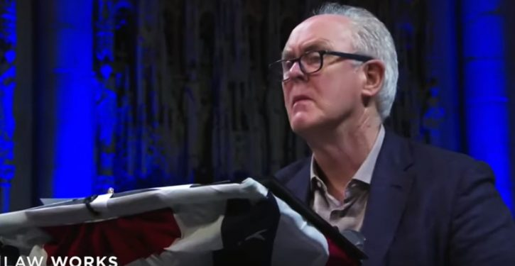 Because 2019: John Lithgow has poem from months ago ready for Labor Sec Acosta's resignation