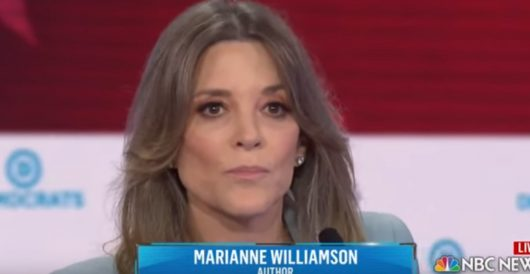'Orb queen' Marianne Williamson wants to pay for reparations by repealing Trump tax cuts by Rusty Weiss