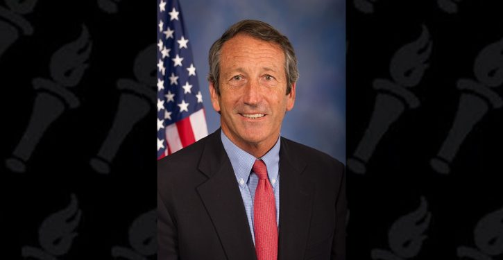 Great news: South Carolina's Mark Sanford ponders primarying Trump