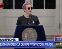 Rapinoe on Fox News-watching parents: 'You guys need to go to therapy'
