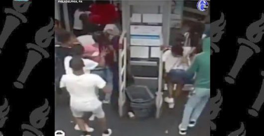 Christmas in July? Flash mob of some 60 black teens loot a Walgreens pharmacy in Philly by LU Staff