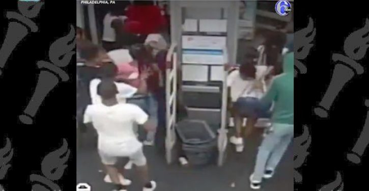 Christmas in July? Flash mob of some 60 black teens loot a Walgreens pharmacy in Philly