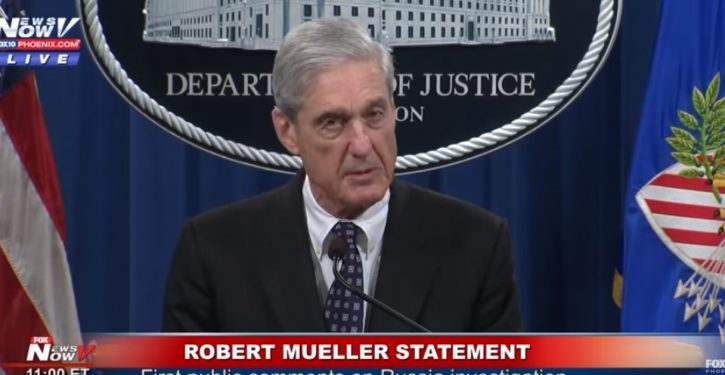 Did Mueller's May press conference save his Russian 'troll factory' case from a contempt charge against DOJ?