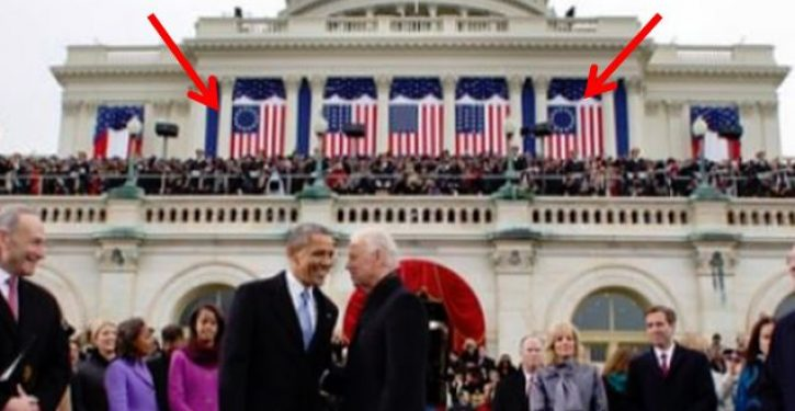 Dems didn't have a problem with Betsy Ross flag displayed at Obama's inauguration