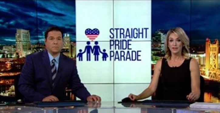 Calif. city considering granting straight pride parade permit