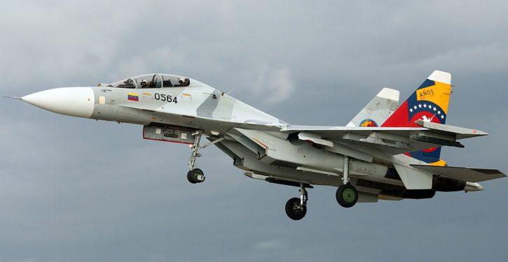 Venezuelan jet 'aggressively shadowed' U.S. Navy surv plane; 'unsafe, unprofessional'