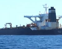 U.S. issues warrant for seizure of Iranian oil tanker in Gibraltar