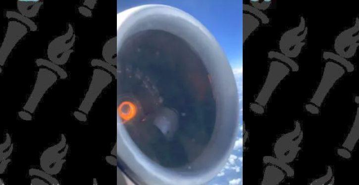 Delta engine falls apart mid-flight