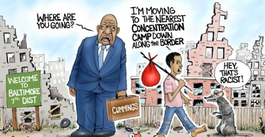 Cartoon of the Day: Movin' on up by A. F. Branco