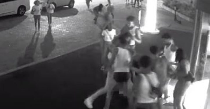 Shock video: DC tourist savagely beaten, stomped, spit on by gang of youths