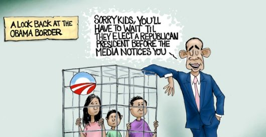 Cartoon of the Day: Yes, we cage by A. F. Branco