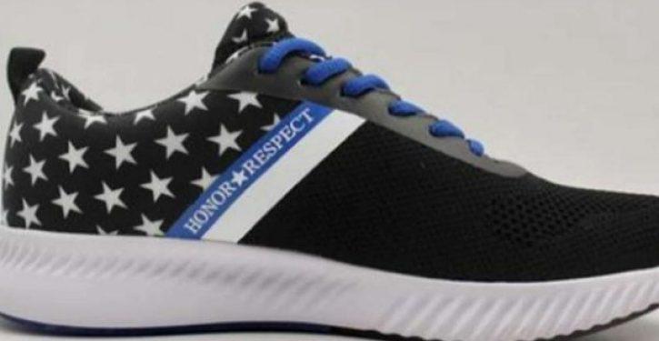 Air Force veteran touts new shoe to honor law enforcement as Nike pulls patriotic flag sneaker