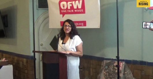 Rep. Rashida Tlaib calls for 'political revolution,' transformation of political system by Joe Newby