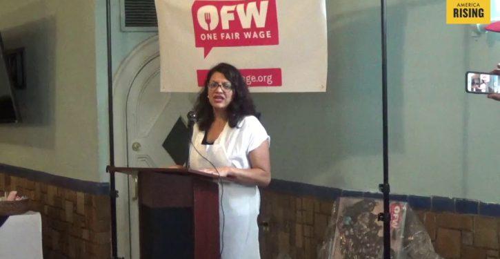 Rep. Rashida Tlaib calls for 'political revolution,' transformation of political system