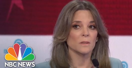 Marianne Williamson shocked that left is 'so mean,' lies 'like this' – 'thought the right did that' by Jeff Dunetz
