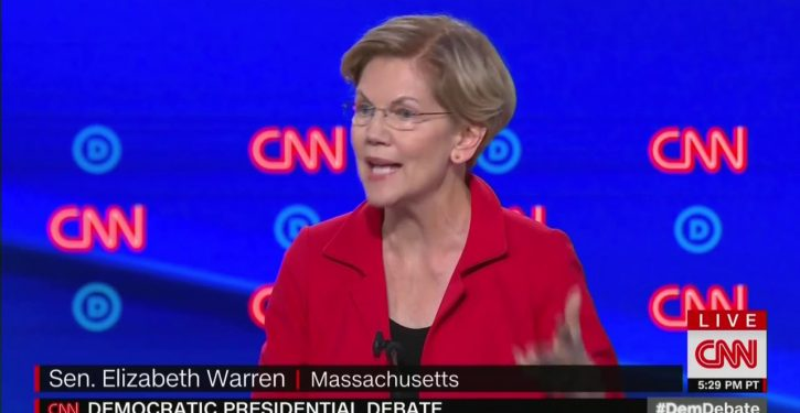 Elizabeth Warren to struggling families dependent on oil jobs: There are other jobs