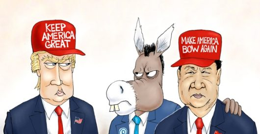 Cartoon of the Day: Taking sides by A. F. Branco