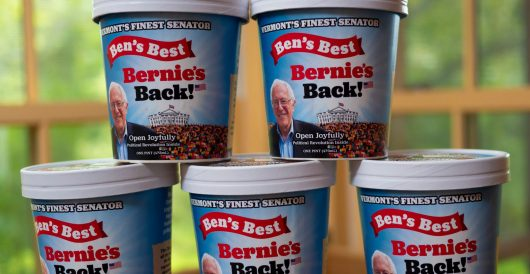 Ben & Jerry's founders create new ice cream flavor in honor of Bernie Sanders candidacy by Ben Bowles