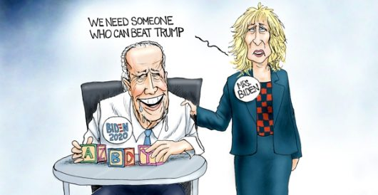Cartoon of the Day: Spousal support by A. F. Branco