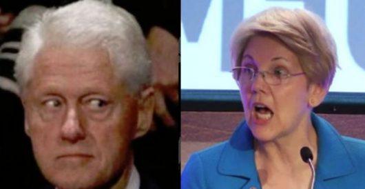 Elizabeth Warren vows she won't let Trump get 'handsy' with her on debate stage by Rusty Weiss