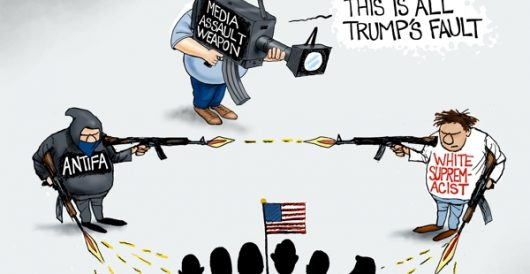 Cartoon of the Day: Assault weapons by A. F. Branco