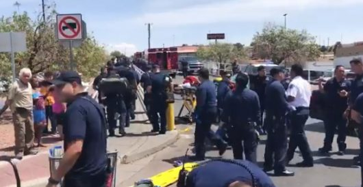 Mass shooting at WalMart in El Paso; 15-20 reported shot, 21-year-old male suspect in custody by J.E. Dyer