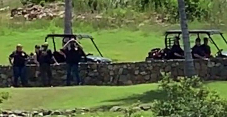 The FBI raided Epstein's private island on Monday
