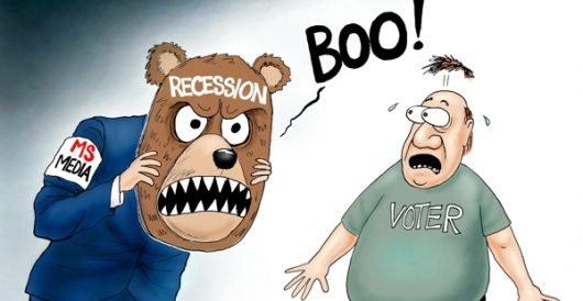 Cartoon of the Day: Scary movie by A. F. Branco