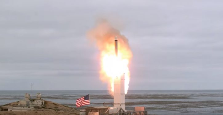 U.S. conducts first test of ground-launched cruise missile since INF Treaty signed in 1987