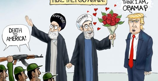 Cartoon bonus: Déjà vu Iran by A. F. Branco