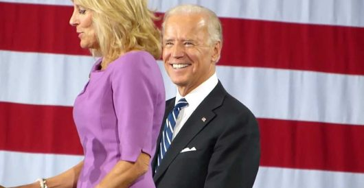 Biden's new campaign slogan: Take a deep breath, hold your nose, and vote for Joe by LU Staff