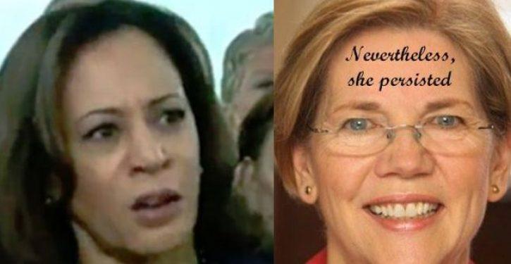 On Ferguson, Elizabeth Warren and Kamala Harris told a terrible lie