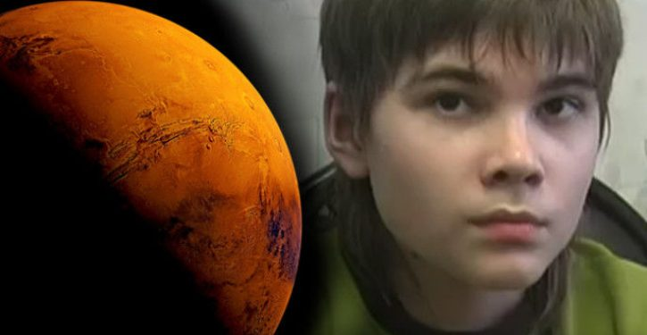 Kid says he's a Martian, and scientists are beginning to believe him