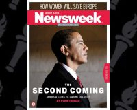 That time Newsweek touted Obama's Biblically-worded 'Second Coming'