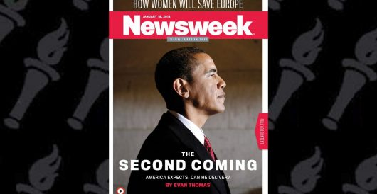 That time Newsweek touted Obama's Biblically-worded 'Second Coming' by J.E. Dyer