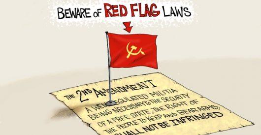 Cartoon bonus: Seeing red by LU Staff