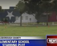 Florida man, detained for plan to stab school kids, objected to school's patriotic decor
