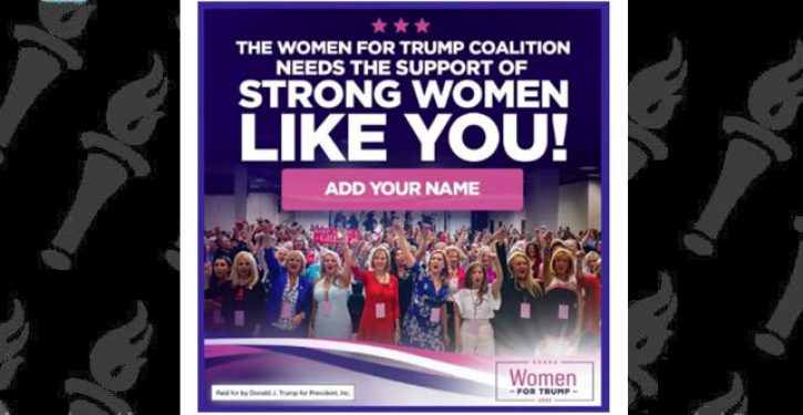 Facebook bans 'Women for Trump' ads