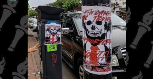 'Death Camps for Trump Supporters' fliers hung in Long Island community by Howard Portnoy