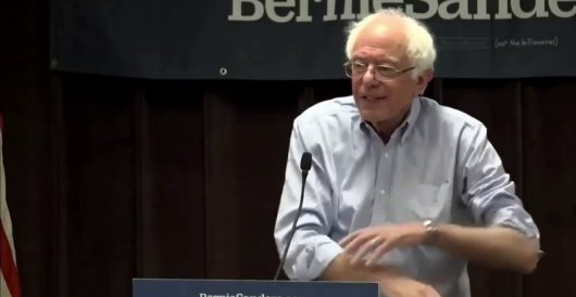 Sanders: I'm 'absolutely' going to take away your health care plan by LU Staff